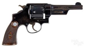 Smith & Wesson pre-war heavy duty 38/44 revolver