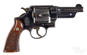 Smith & Wesson post war 38/44 model revolver
