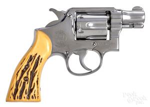 Smith & Wesson pre-model 10 double action revolver