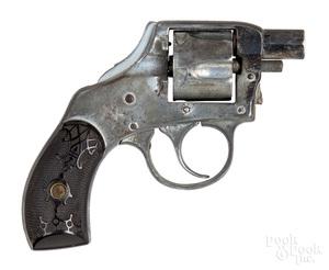 Unmarked Vest Pocket Safety Hammer revolver