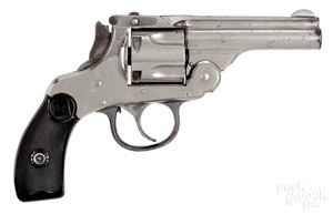 H & R auto ejecting double action revolver