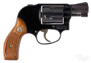 Smith & Wesson model 38 Airweight revolver