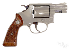 Smith & Wesson model 36 double action revolver