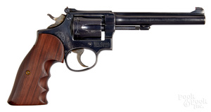 Smith & Wesson model 17 double action revolver