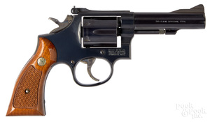 Smith & Wesson model 15-6 double action revolver