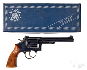 Smith & Wesson model 17-3 double action revolver