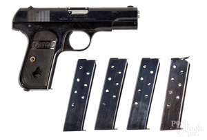 Colt model 1903 semi-automatic pistol