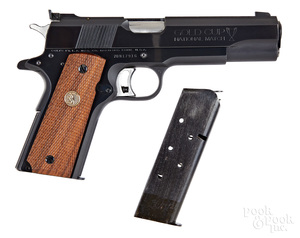 Colt Mark IV Series 70 National Match 1911 pistol
