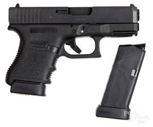 Austrian Glock model 30 semi-automatic pistol