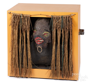 Animated Aboriginal amusement spook house figure