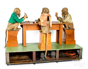Coney Island The Cheating Chimps automaton