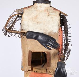Large composition electric minstrel automaton