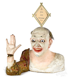 Clown clockwork trade stimulator automaton