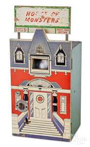 House of Monsters penny arcade slide viewer