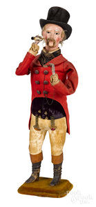 French clockwork automaton of a Lord smoker