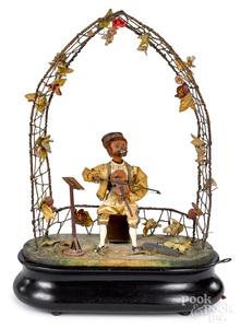 Phalibois monkey violinist automaton