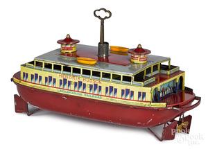 Hendrik Hudson Lackawanna Railroad ferry boat