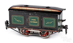 Marklin O gauge powered box car