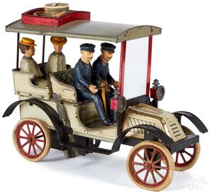 Carette tinplate clockwork touring car