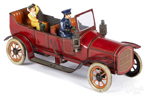 Bing tin lithograph wind-up limousine