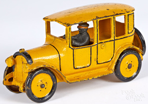 Hubley cast iron yellow cab