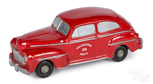 Master Caster Mfg. Co. cast 1948 Ford Police car