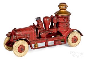 Kenton cast iron fire pumper with integral driver
