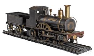 Live steam Emporer train model