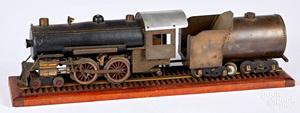 Machinist wood and brass SG train locomotive