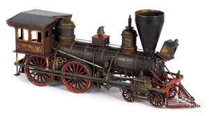 M. W. Baldwin & Co Tiger train locomotive model