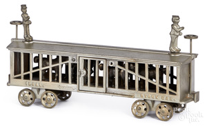 Ideal cast iron nickel plated Stock Car