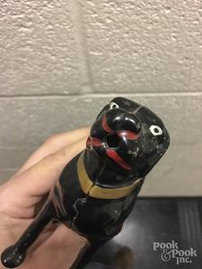 Cast iron Labrador retriever still bank