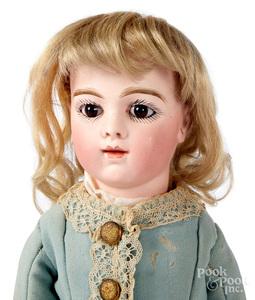 French Brue JNE no. 5 bisque head doll