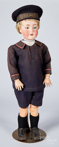 Large Cuno & Otto Dressel child size doll