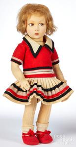 Lenci child felt doll