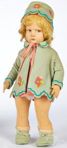 Lenci girl felt doll