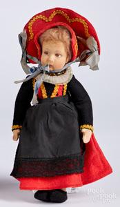 Lenci Gressoney felt doll
