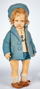 Lenci sailor girl felt doll