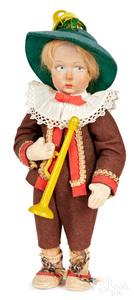 Lenci boy felt doll