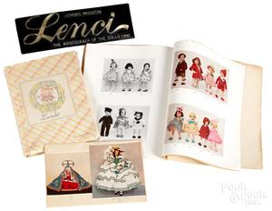 Lenci felt doll catalogues, 1931-1950