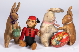 Group of plush toys