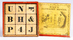 Hill's Alphabet Blocks