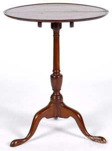 Pennsylvania Queen Anne cherry candlestand