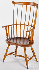 Mid Atlantic fanback Windsor armchair