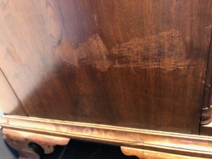 Pennsylvania Chippendale walnut tall chest