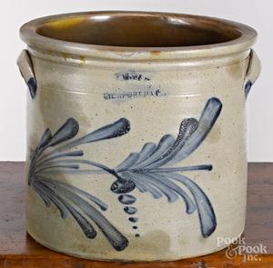 Pennsylvania three-gallon stoneware crock