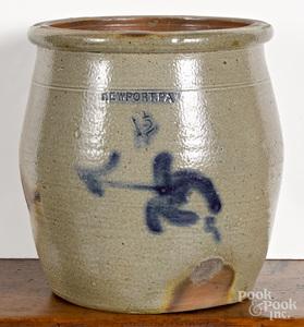 Pennsylvania 1 1/2 gallon stoneware crock
