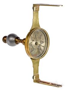Pennsylvania brass surveyor's compass