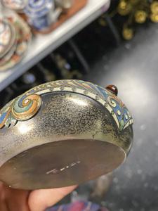 Russian silver enamel kovsch