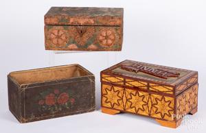 Matchstick dresser box